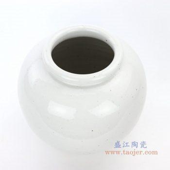 RZPI20 景德镇陶瓷 仿古做旧高温单色釉储物罐