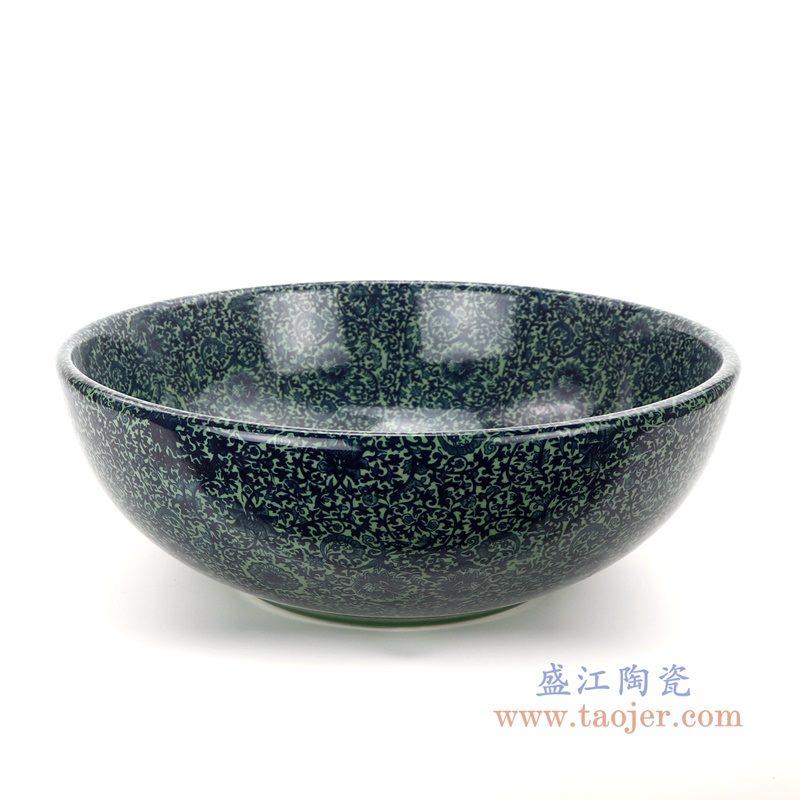 RZAP15-81 盛江陶瓷  家用碗盘碗碟装菜盘米饭碗面碗调味碟