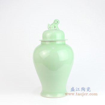 RYKB115-E 景德镇陶瓷 景德镇陶瓷器颜色釉储物罐将军罐