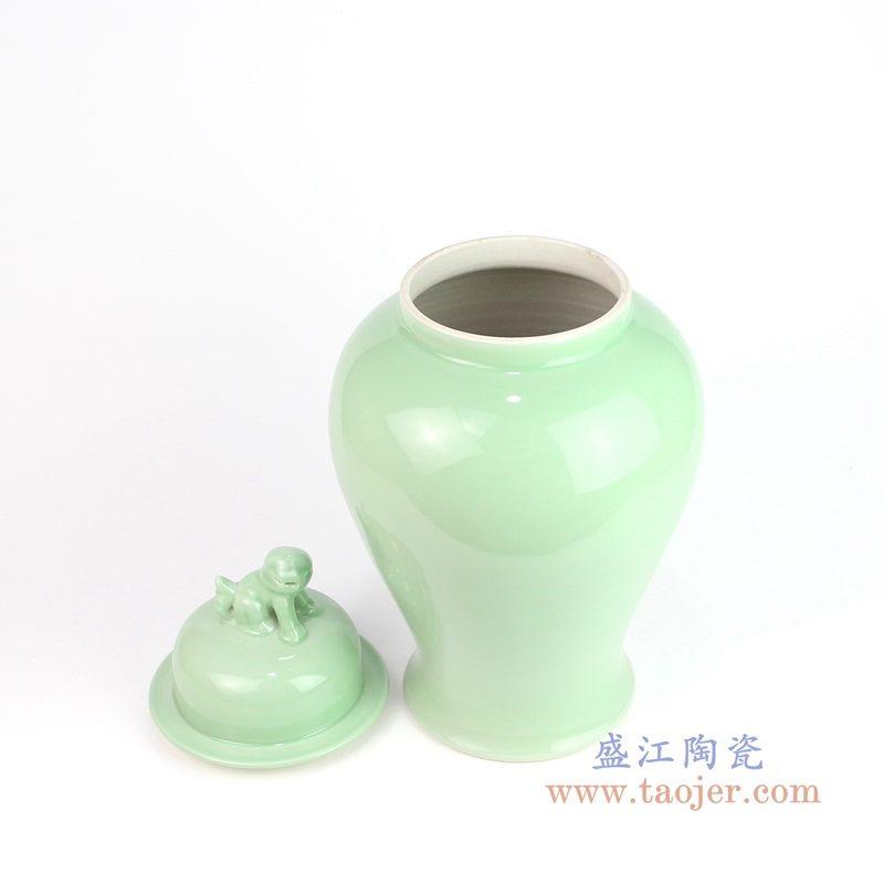 RYKB115-E 盛江陶瓷 景德镇陶瓷器颜色釉储物罐将军罐