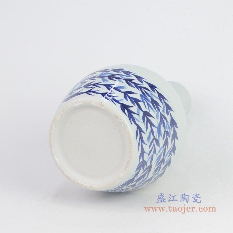 RYNQ255 盛江陶瓷 景德镇陶瓷器仿古青花天球瓶
