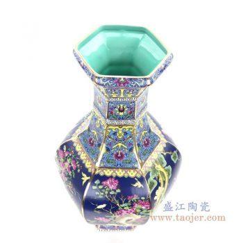 RYRJ18 景德镇陶瓷 景德镇瓷器珐琅彩瓷器花瓶