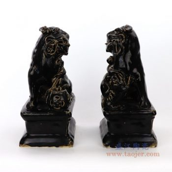 RZEI01-B 景德镇陶瓷 麒麟貔貅狮子狗摆件