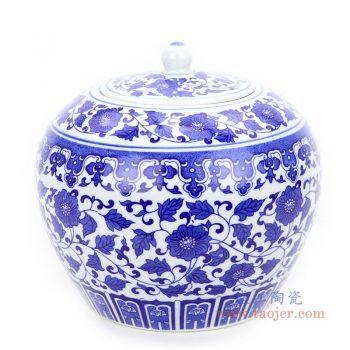 RZIX04 景德镇陶瓷 陶瓷罐茶叶密封罐
