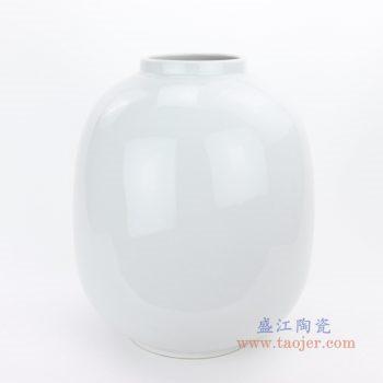RZMS18 景德镇陶瓷 花瓶摆件 客厅干花插花鲜花装饰品