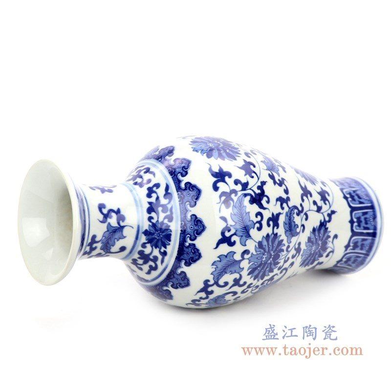 RZNJ04 盛江陶瓷 青花瓷乾隆年制装饰品插花器