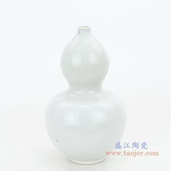 RZPI37 景德镇陶瓷 景德镇手工青瓷葫芦瓶 浮雕粉青宝葫芦创意梅瓶摆件