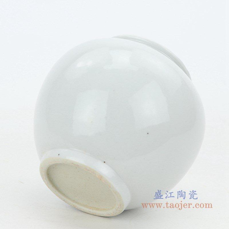 RZPI38 盛江陶瓷 手工青瓷白瓷茶叶罐
