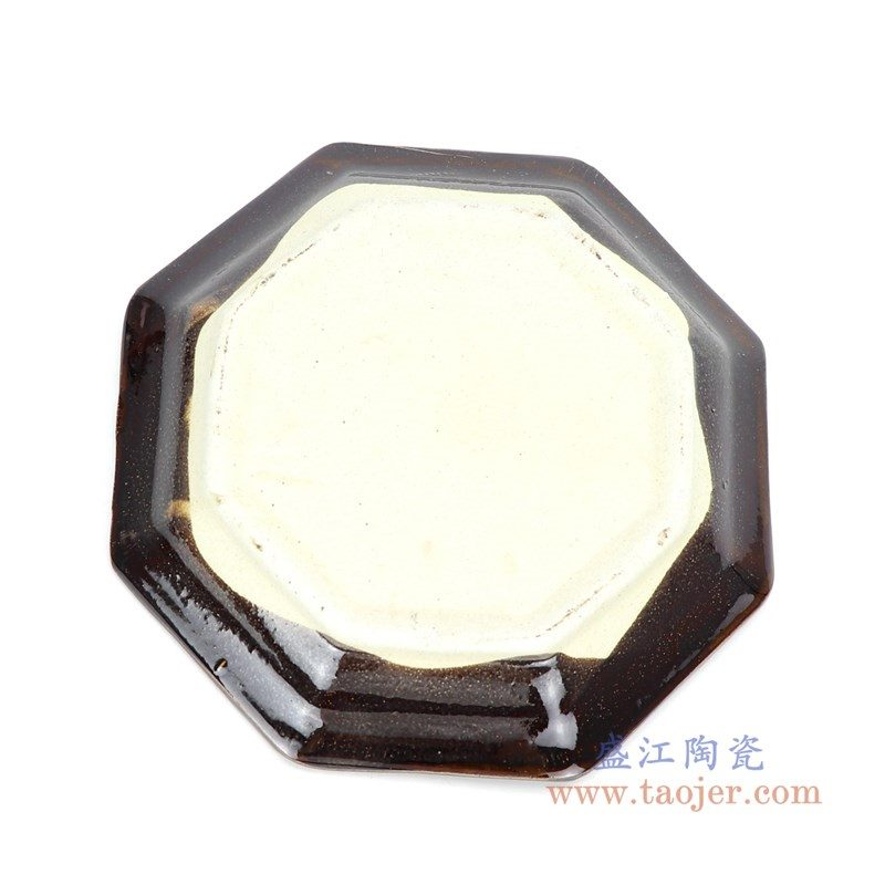 RZPR01-特大 盛江陶瓷 多肉植物花盆陶瓷黑色特大号