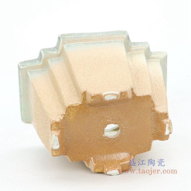 RZPR02-大 盛江陶瓷 多肉植物花盆大号