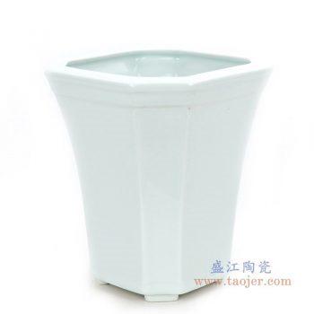 RZPS02 景德镇陶瓷 懒人自动吸水花盆简约个性储水创意花盆绿萝吊兰植物客厅桌面盆器