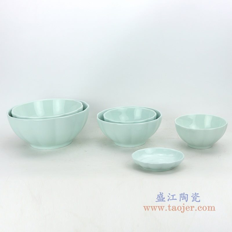 RZOB 盛江陶瓷  8寸家用南瓜碗