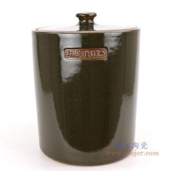 RZQi01 景德镇陶瓷 陶瓷米缸陶瓷罐带盖茶叶罐