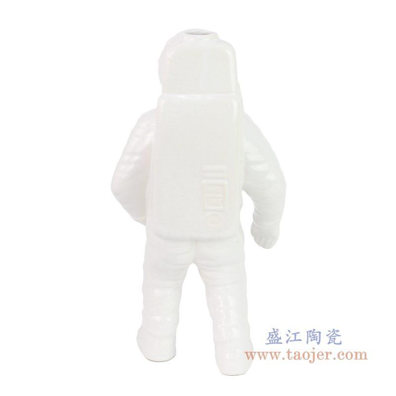 RZQK01-A-B 盛江陶瓷 太空人宇航员摆件现代创意摆件客厅家居装饰摆设