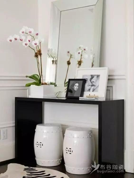 布谷陶瓷|白色也能给你弄出花来