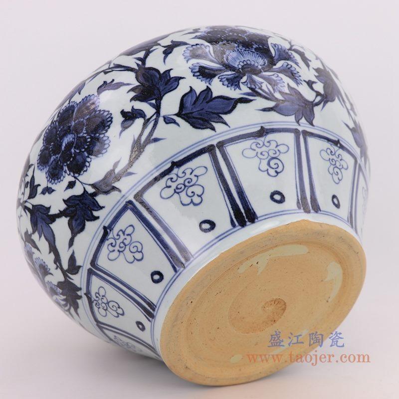 RZQo06 盛江陶瓷 景德镇陶瓷仿古元青花瓷手绘大花瓶
