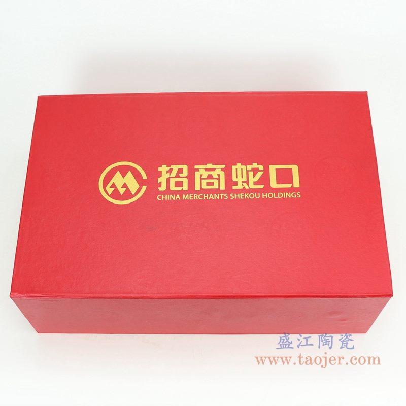 上图:醉凡尘15件荷花图案陶瓷餐具礼盒子   购买请点击图片