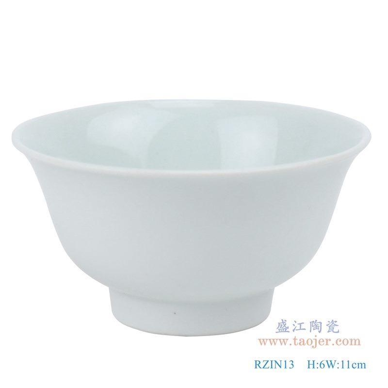 上图; 白瓷敞口碗4.3寸白碗 购买请点击图片