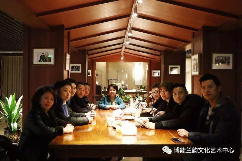 景德镇陶瓷世家传承人齐聚博能·兰韵文化艺术中心2018.02