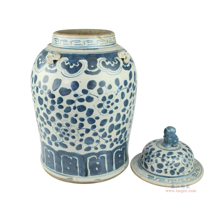 RZEY12 景德镇陶瓷器花瓶手绘仿古青花瓷器