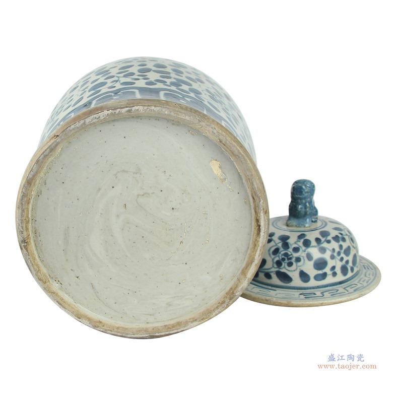 景德镇陶瓷器花瓶手绘仿古青花瓷器