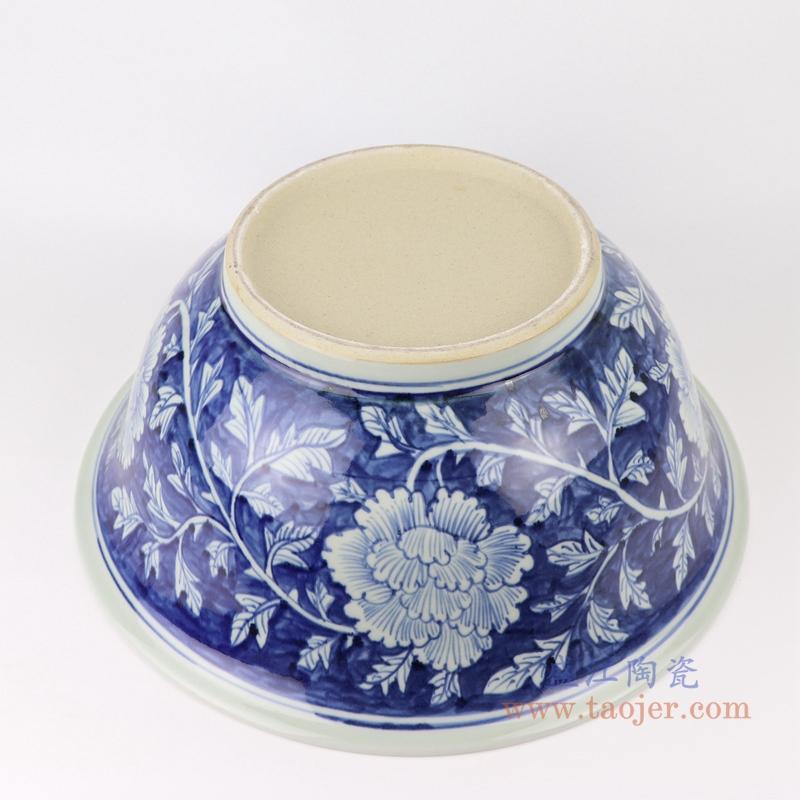 景德镇手绘花纹青花陶瓷碗