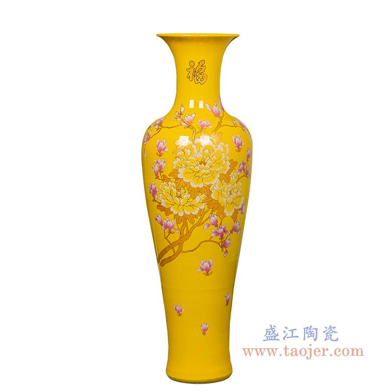 RZRi54-A  落地大花瓶景德镇陶瓷器居家摆件酒店客厅装饰品