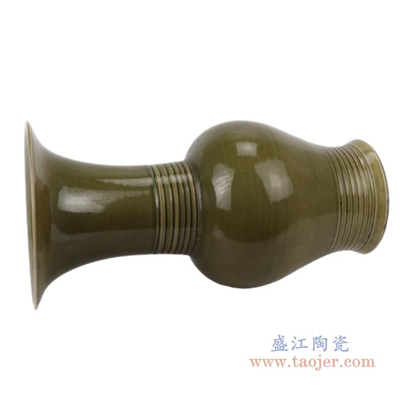 古典末釉赏瓶梅瓶手工颜色釉坛罐子仿古做旧瓷器