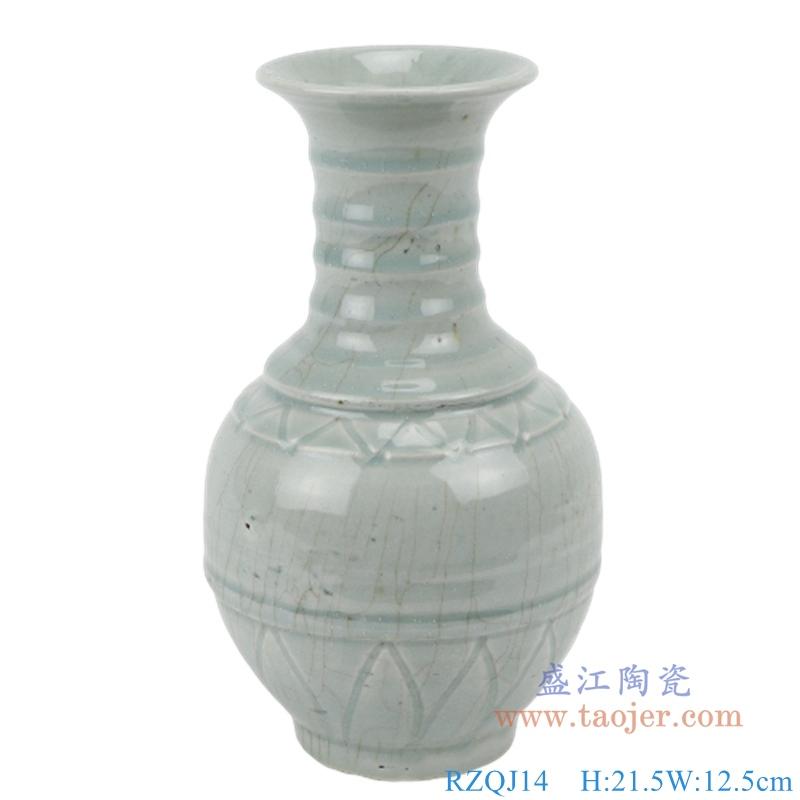 现代简约花瓶摆件陶瓷花器创意家居装饰客厅水培插花组合花瓶摆件