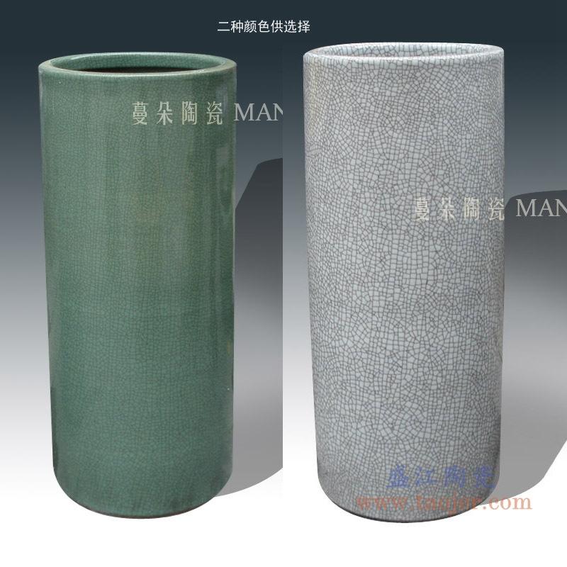 RYYV07A/B/C/D 景德镇简约手工陶瓷伞筒