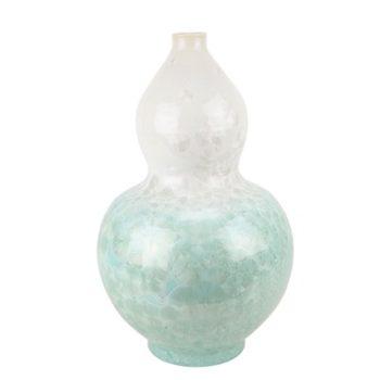 RYYX06 结晶釉白绿两色底葫芦瓶
