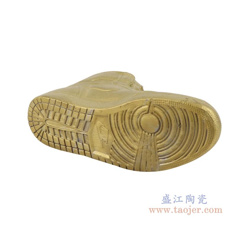 RZQU09 仿耐克Air Jordan篮球鞋陶瓷金色底部