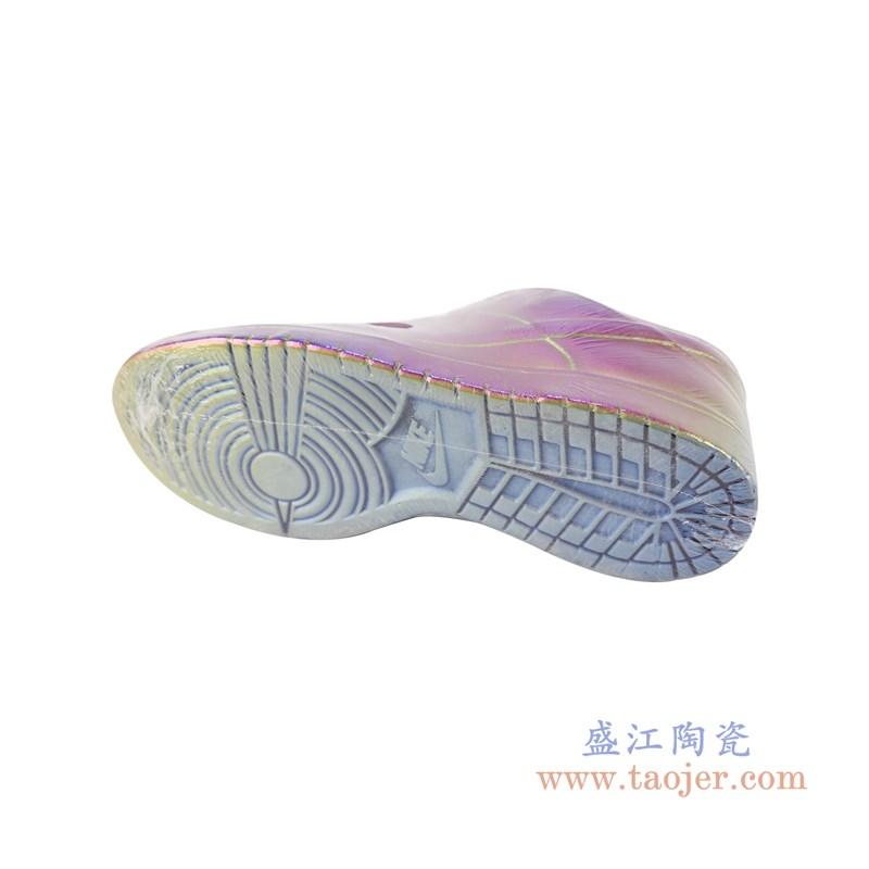 RZQU04 颜色釉雕刻彩色耐克鞋子底部