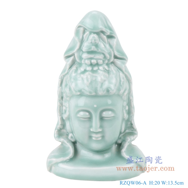 RZQW06-A 菩萨雕塑佛头佛像