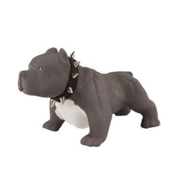 RZSH11黑色哈巴狗小狗雕刻雕塑