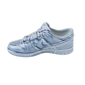 RZQU03 颜色釉青釉雕刻帆布纹耐克鞋子