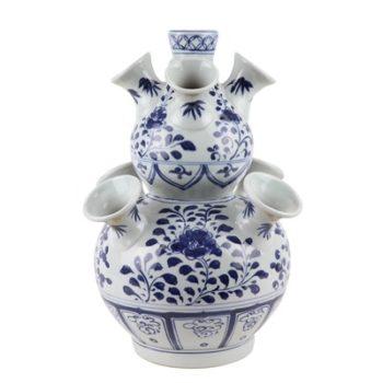 RZKR14 青花多口葫芦瓶异形花瓶