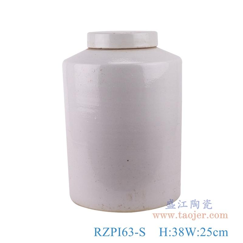 RZPI63-S纯白色小号储蓄茶叶罐