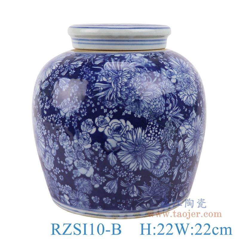 上图:RZSI10-B贝斯特全球最奢华的游戏平台冰梅万花坛罐子